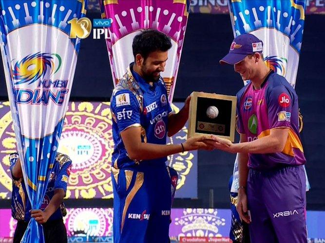 Rising Pune Supergiant elect to field against Mumbai Indians