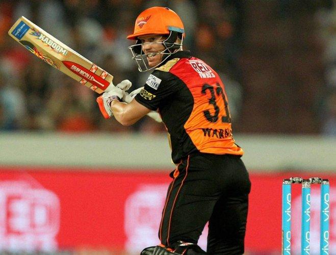 Sunrisers Hyderabad eke out five-run win