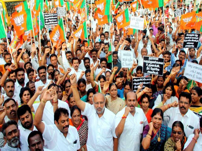 Telangana BJP to march to CPM office