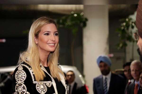 Ivanka Trump arrives at Hyderabad for GES-2017