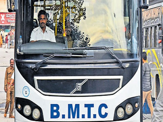 Women's seats in BMTC buses to go pink