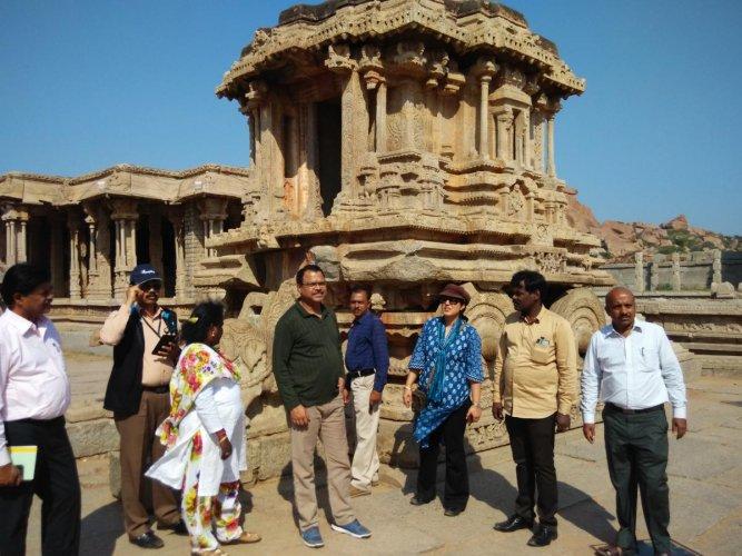 Grand digital tour awaits visitors to Hampi