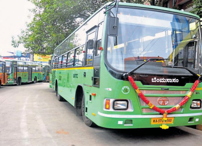 BMTC to lease 200 CNG buses