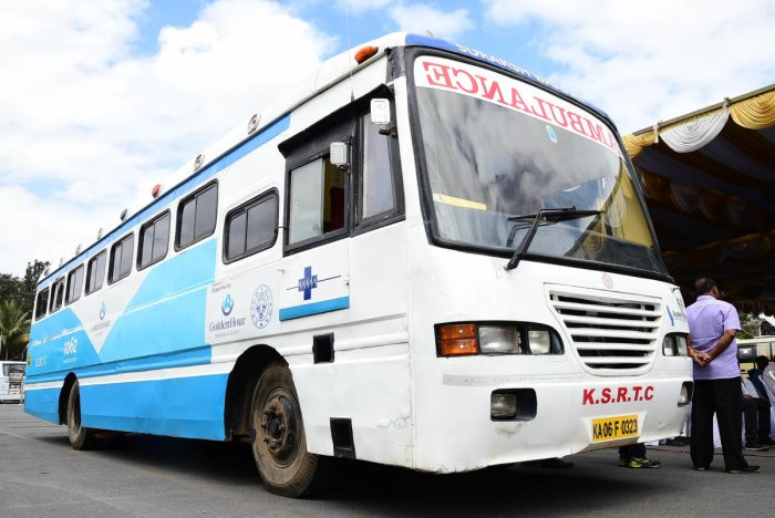KSRTC to introduce bus ambulances in all divisions