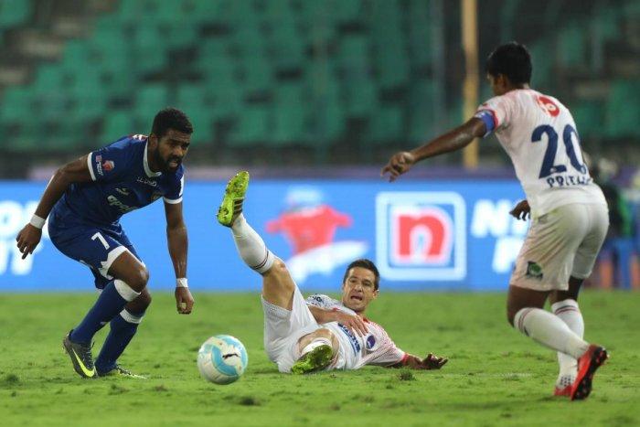 Nelson strikes in Chennaiyin's win