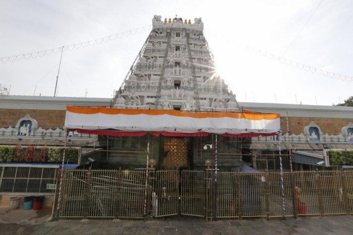 Temples in Telangana, AP closed for lunar eclipse