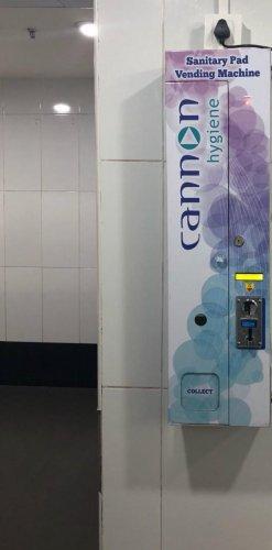 Sanitary pad vending machine installed at Hyderabad airport