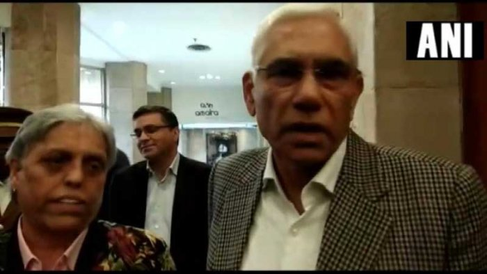 CoA member Vinod Rai on Friday said, We'll not have a regular IPL opening ceremony and the amount of the budget for the opening ceremony will be given to families of the victims of this terror attack. (Image: ANI/Twitter)