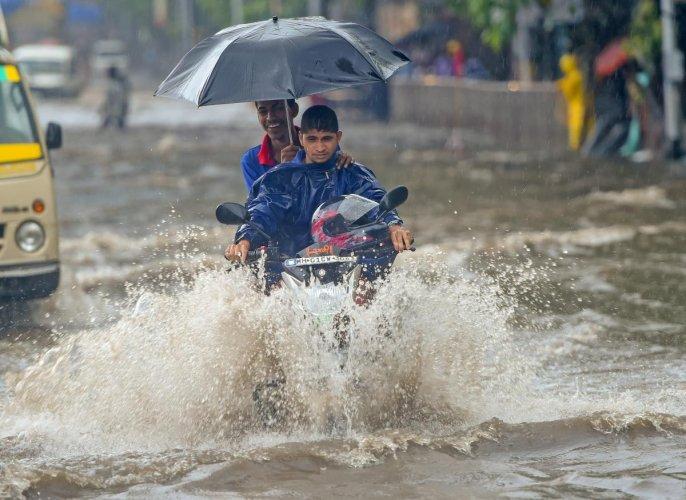 Rainfall had reduced over Mumbai as the offshore trough shifted southwards towards Coastal Kerala and Karnataka. (Reuters file photo)
