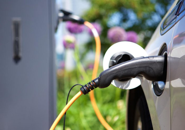 The KERC will prescribe all high-rise structures, including residential and commercial spaces, to have electric vehicle charging stations. File photo