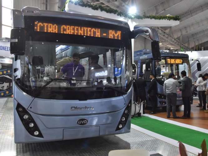 The government feels the electric bus manufacturer's tender was a raw deal. DH file photo