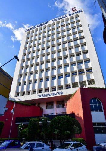 Vijaya Bank Head Office on MG Road, Bengaluru