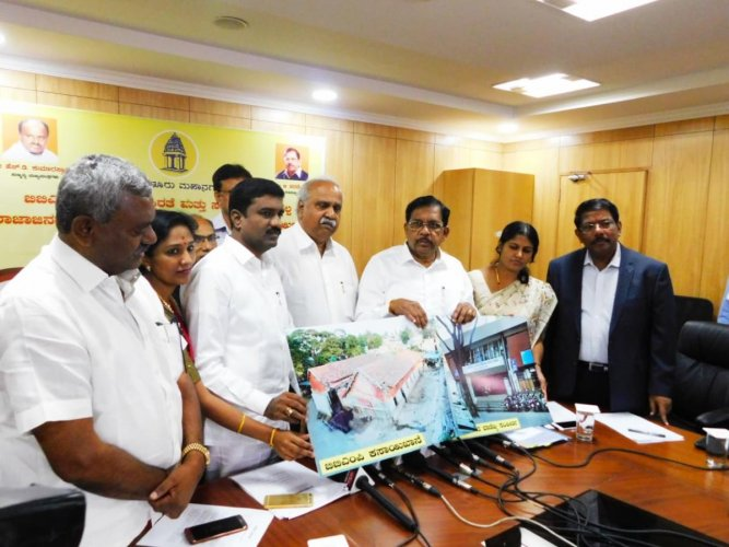 Deputy Chief Minister and Bengaluru Development Minister G Parameshwara on Friday announced that the BBMP has got back its properties after settling all the dues with the Housing and Urban Development Corporation (HUDCO). (DH Photo)