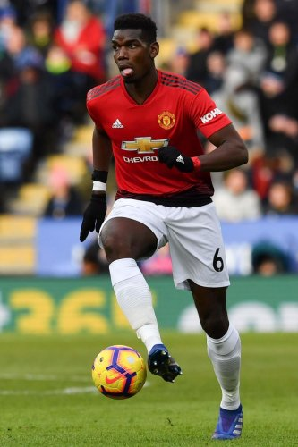 TOUGH BATTLE AHEAD: Paul Pogba, who has been in rasping form for Manchester United over the last few months, will be looking to carry forward against great rivals Liverpool on Sunday. AFP