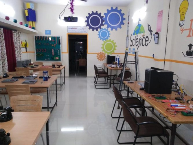 The Atal Tinkering Lab to be inaugurated at the high school in Ganganagar near RT Nagar on Thursday.