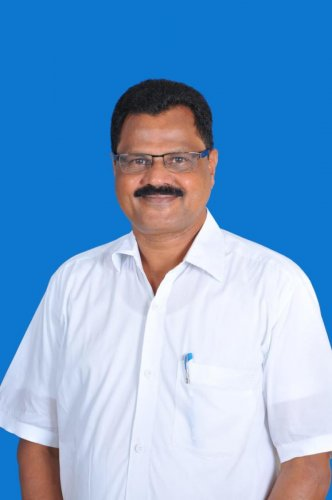 Prof S C Ramesh, the new VC of Hampi Kannada University.