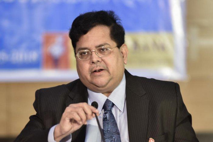 R A Sankara Narayanan, MD and CEO of Vijaya Bank. DH Photo