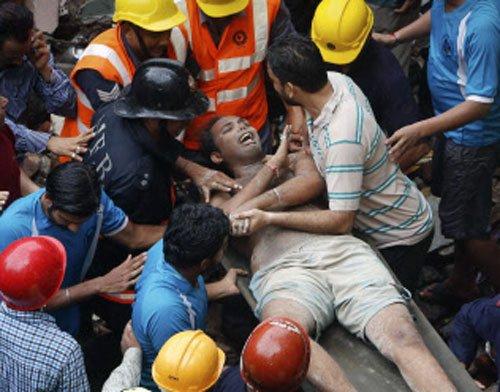 Toll 46 in Mumbai's second worst building crash this year