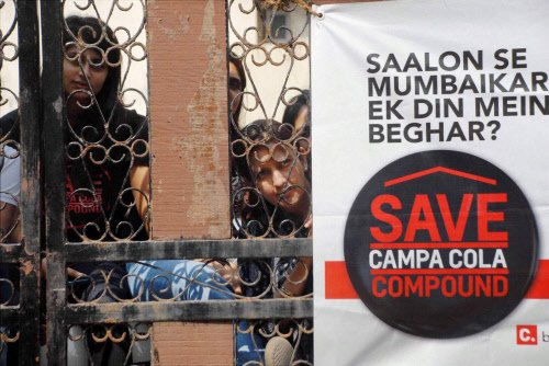 SC asks residents, civic body to resolve Campa Cola flats row