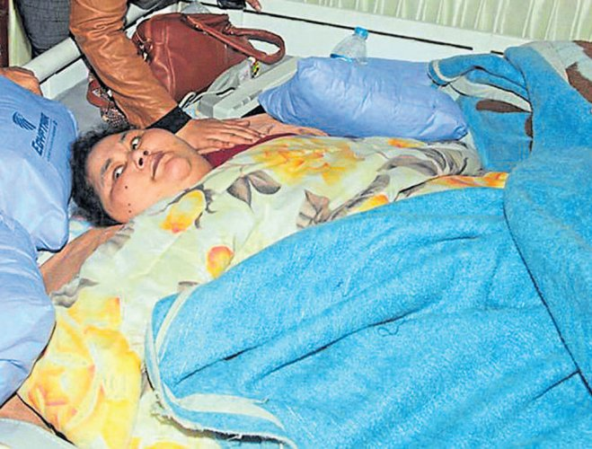 500-kg woman lands in Mumbai for surgery