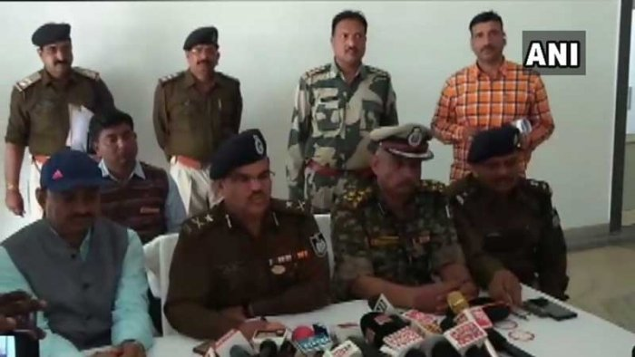 The police of both Madhya Pradesh and Uttar Pradesh were working on the case since Chitrakoot is a border town. (Image: ANI/Twitter)