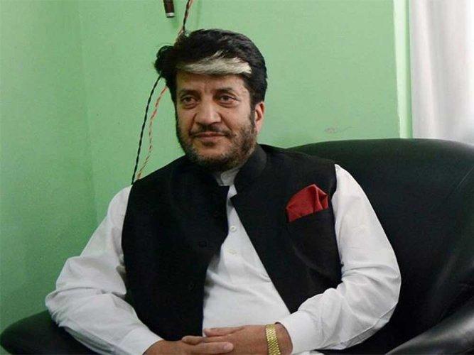 Kashmiri separatist leader Shabir Shah. (Image courtesy Twitter)
