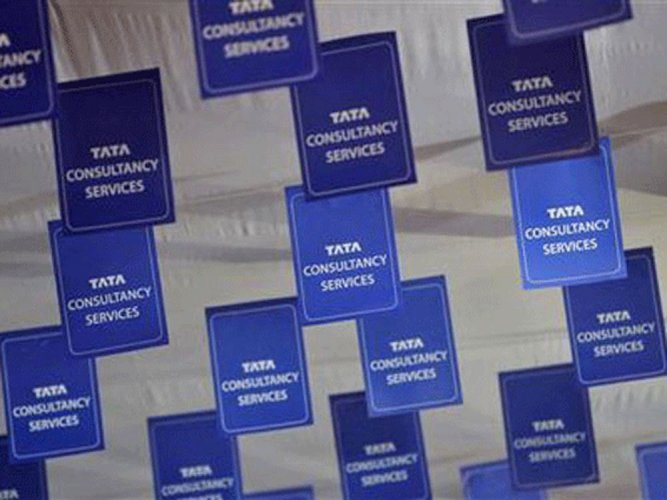The M-cap of TCS slumped Rs 39,400 crore to Rs 7,22,671.77 crore, emerging as the worst hit among the top-10 firms. (Reuters File Photo)