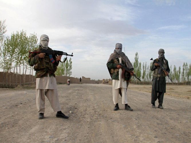 """The Taliban have steadfastly refused to negotiate with Kabul, whom they dismiss as """"puppets"""". They have also stated that, without a withdrawal timetable, further progress is """"impossible"""". (Reuters File Photo)"""