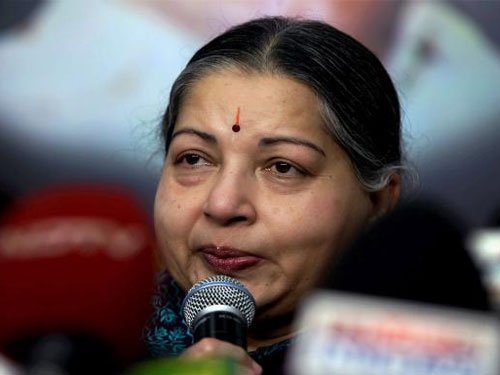 EC rejects Jayalalithaa's defence, asks her to be careful