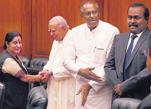 India to press for political solution to Lankan Tamils issue: Sushma
