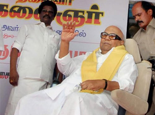 No arrangements for ailing person like me in Assembly, says Karunanidhi