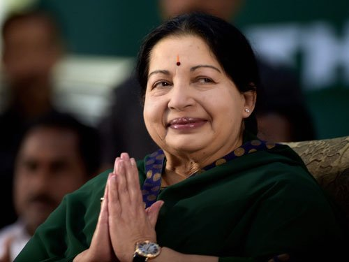 Jayalalithaa files nomination amid revelry by party workers