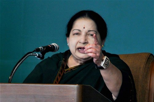 Jayalalithaa bucks tradition