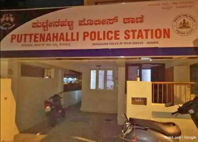 Puttenahalli police station in JP Nagar