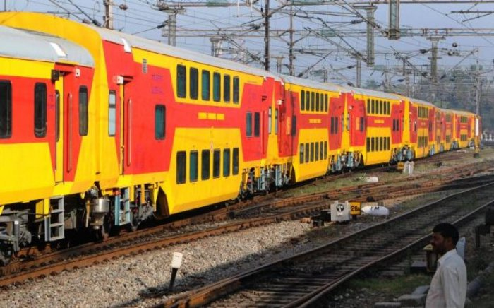 The double-decker train will have special coaches.