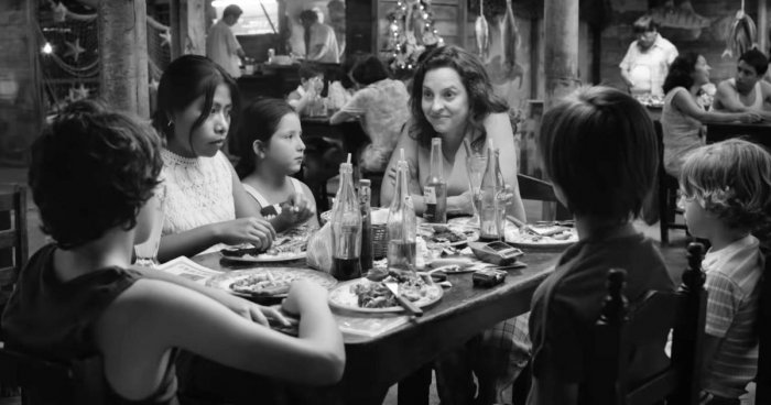The black-and-white Netflix film, directed and written by Alfonso Cuaron, marked Mexico's first Oscar victory in the category and has already picked up a slew of other awards this year.