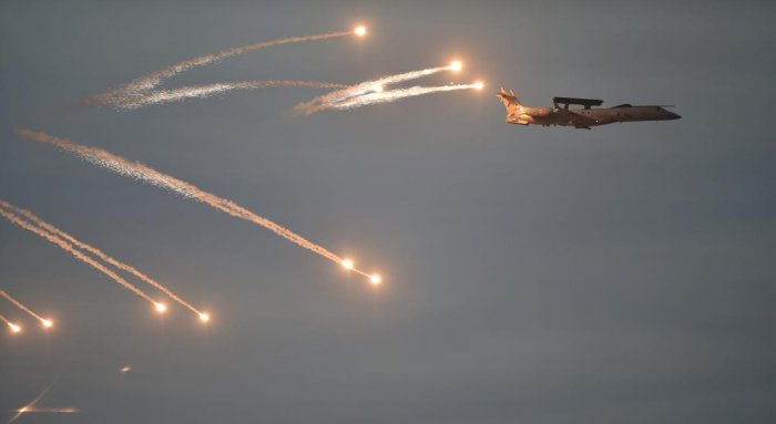 """Hours after the Indian Air Force hit terror camps inside Pakistan, the Army Tuesday tweeted a Hindi poem which says that """"if you are docile and polite before the enemy, he may consider you as a coward, the way Kauravas treated Pandavas"""". PTI file photo"""