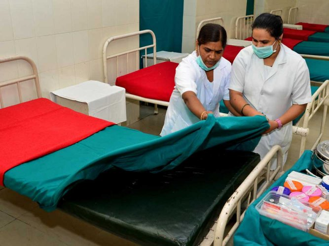 Sri Jayadeva Institute of Cardiovascular Sciences and Research is augmenting the facility by increasing the bed capacity to 1,000 in the coming days. File photo