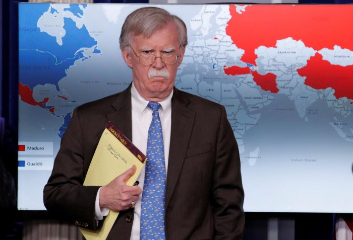Bolton supported India's right to self-defence against cross-border terrorism and offered all assistance to India to bring the perpetrators and backers of the attack promptly to justice. (Reuters Photo)