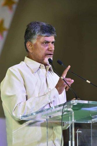 Andhra Pradesh Chief Minister N Chandrababu Naidu. file photo