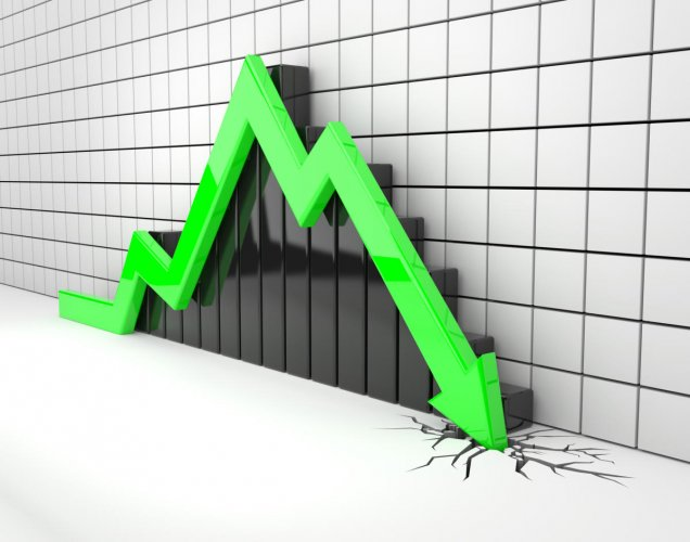 GDP fall