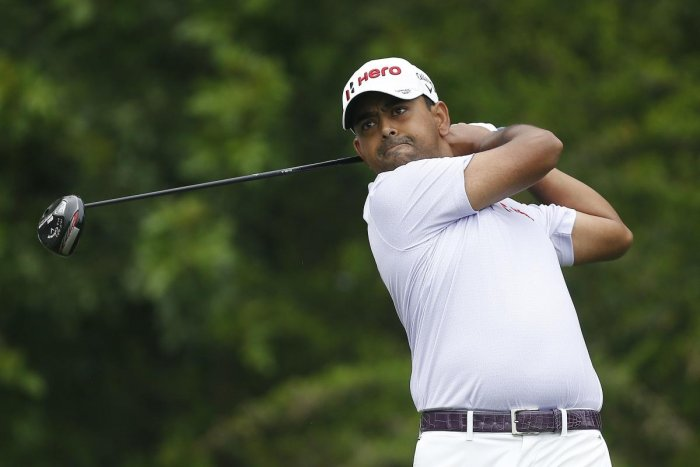 GOOD START India's Anirban Lahiri in action during the first round of the Honda Classic at in Palm Beach Gardens, Florida on Thursday. AFP
