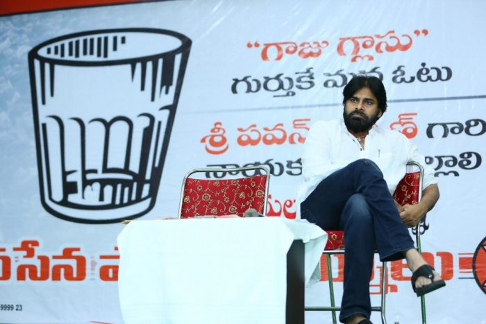 Actor-turned-politician Pawan Kalyan said that he was told that there will be a war just before the Lok Sabha elections, two years ago.