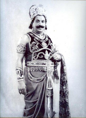 Subbaiah Naidu as Indrajith.