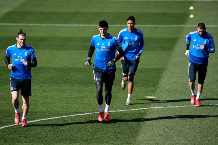 TOUGH TASK Real Madrid forward Gareth Bale (from left) 6ebcd1fa1ba94