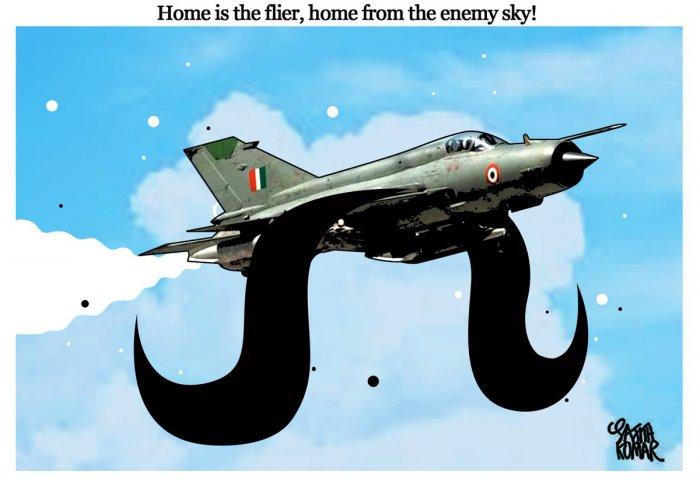 Cartoon by Sajith Kumar