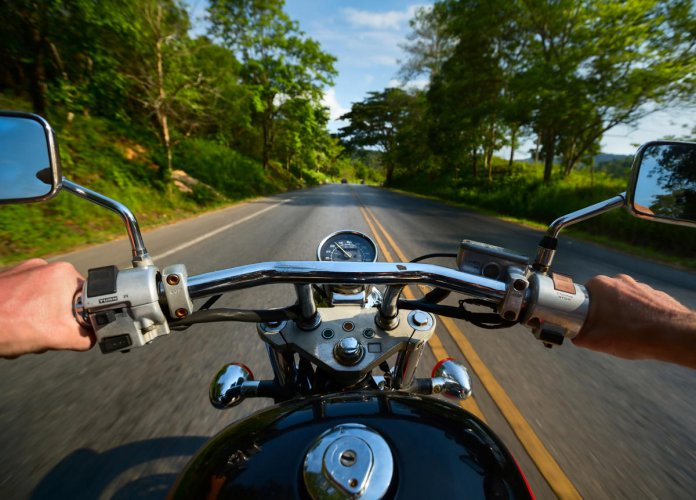 When you ride for eight hours a day, although the roads and landscapes are beautiful, you start thinking about your life.