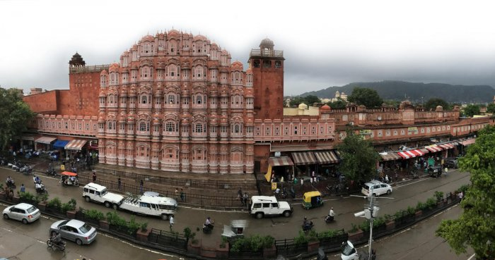 Hawa Mahal. (PHOTOS BY AUTHOR)