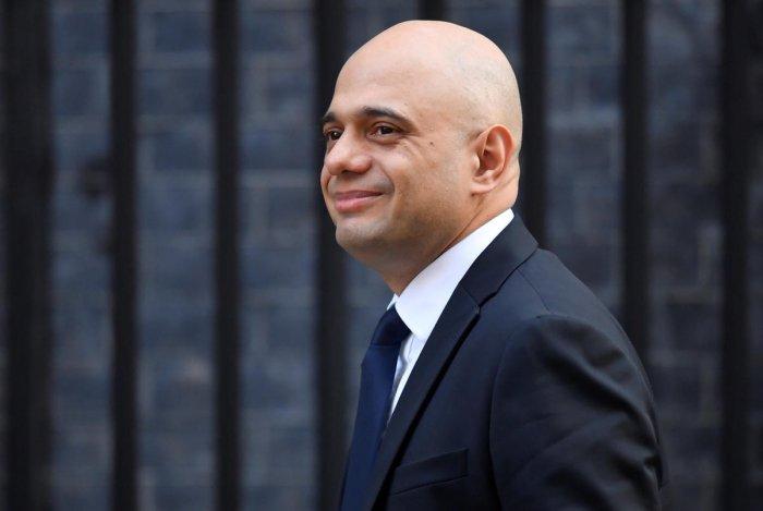 Britain's Home Secretary Sajid Javid. (Reuters File Photo)