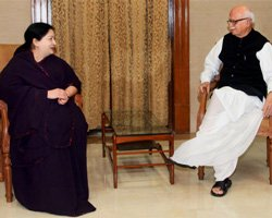 BJP, AIADMK to coordinate on presidential poll: Advani